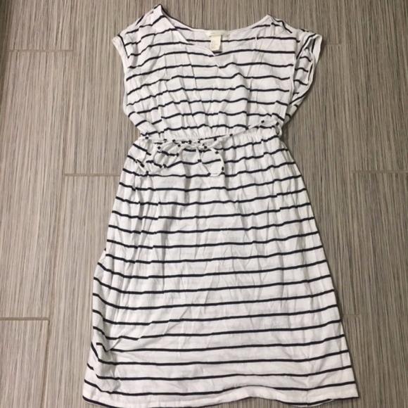 H&M Dresses & Skirts - Striped maternity tee-shirt dress